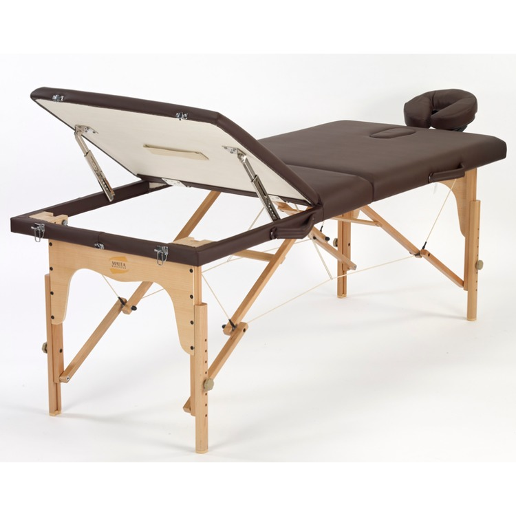 Table de massage pliante tempo chocolat - Table massage pliable ...